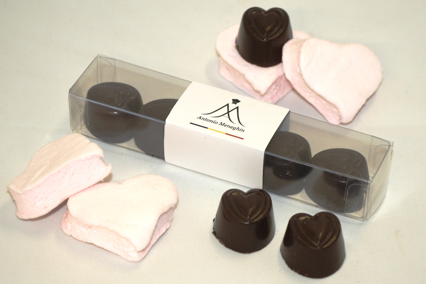 règlette coeur chocolat